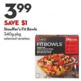 Stouffer's Fit Bowls 340g Pkg