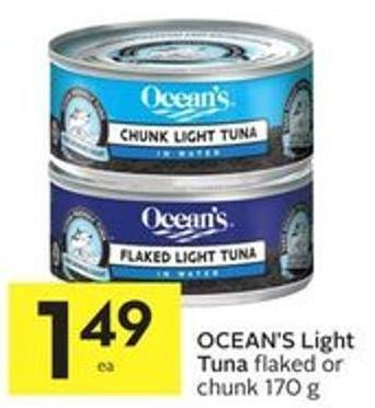 Ocean's Light Tuna
