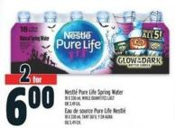 Nestlé Pure Life Spring Water 18 X 330 ml Or $3.49 Ea.