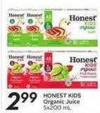 Honest Kids Organic Juice