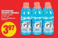 Gatorade Sports Drinks - 6 X 591 mL