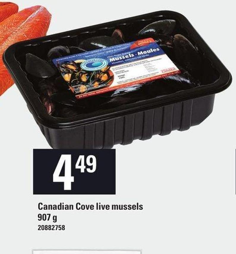 Canadian Cove Live Mussels - 907 G