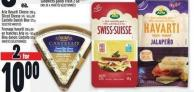 Arla Havarti Cheese 200 G - Sliced Cheese 145 - 165 G Or Castello Danish Blue 125 G
