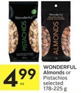 Wonderful Almonds