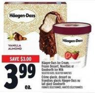Haagen-dazs Ice Cream - Frozen Dessert - Novelties Or Goodnorth Ice Milk