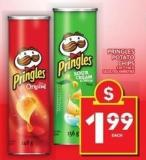 Pringles Potato Chips 130-156 g