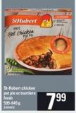 St-hubert Chicken Pot Pie Or Tourtiere Fresh - 505-645 G