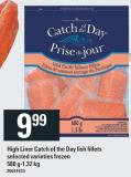 High Liner Catch Of The Day Fish Fillets
