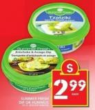 Summer Fresh Dip Or Hummus 227 G