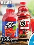 Mott's Clamato Or V8 Vegetable Cocktail 1.89 L