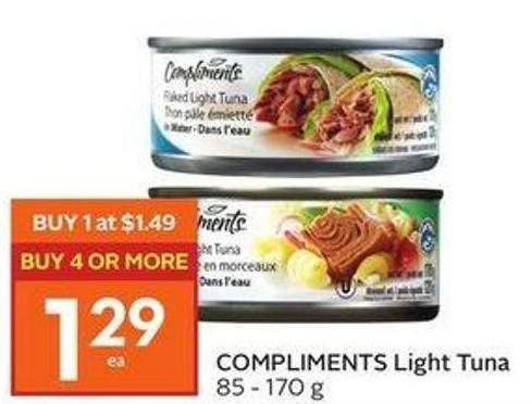 Compliments Light Tuna