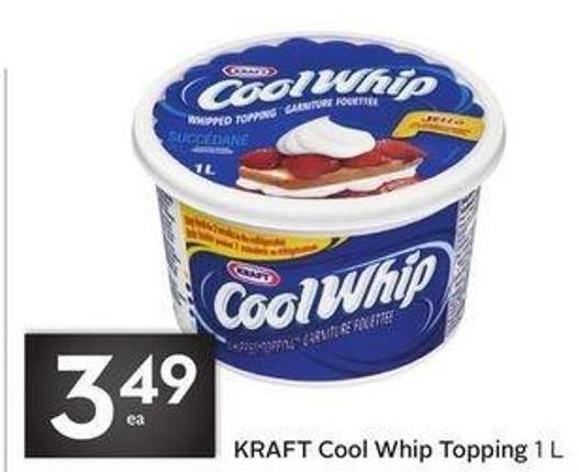 Kraft Cool Whip Topping