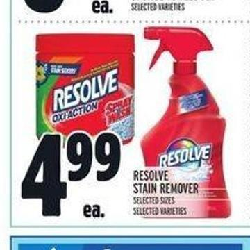 Resolve Stain Remover