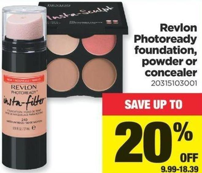Revlon Photoready Foundation - Powder Or Concealer