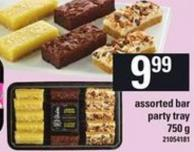 Assorted Bar Party Tray - 750 G