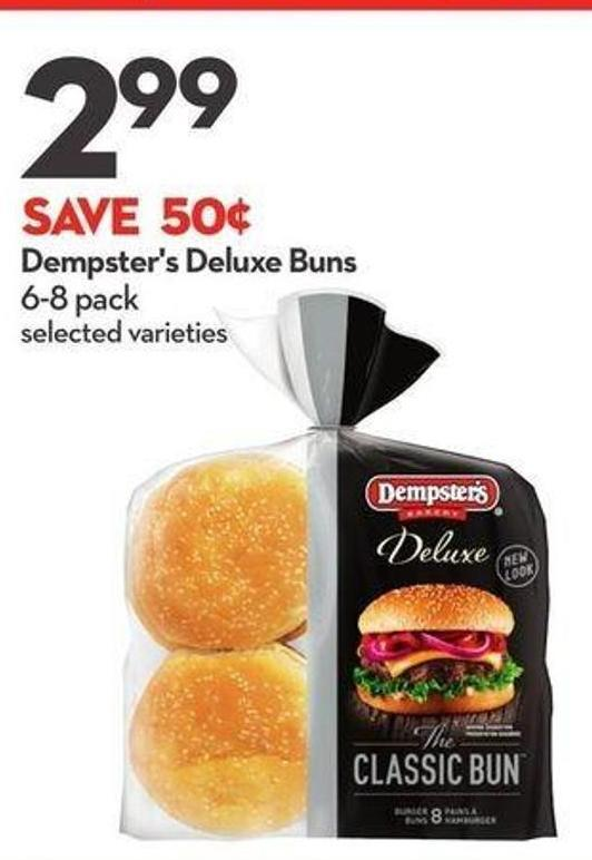 Dempster's Deluxe Buns