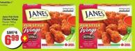 Janes Pub Style Chicken Wings Frozen 760 g