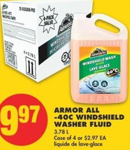 Armor All -40c Windshield Washer Fluid - 3.78 L
