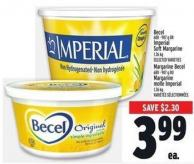 Becel 680 - 907 g Or Imperial Soft Margarine1.36 Kg