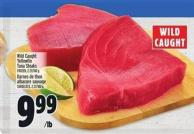 Wild Caught Yellowfin Tuna Steaks