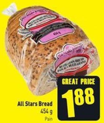 All Stars Bread 454 g