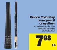 Revlon Colorstay Brow Pencil Or Eyeliner