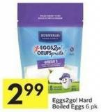 Eggs2go! Hard Boiled Eggs