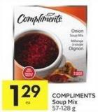 Compliments Soup Mix
