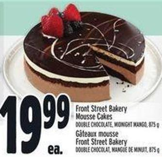 Front Street Bakery Mousse Cakes