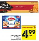 Black Diamond Cheese Or Galbani Mozzarella
