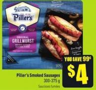Piller's Smoked Sausages 300-375 g