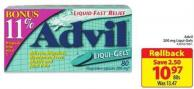 Advil 200 Mg Liqui-gels