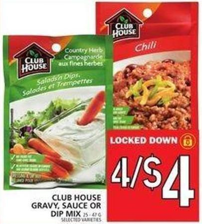 Club House Gravy - Sauce Or Dip Mix