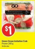 Green Ocean Imitation Crab Frozen 200 g
