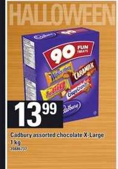 Cadbury Assorted Chocolate X-large