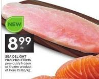 Sea Delight Mahi Mahi Fillets