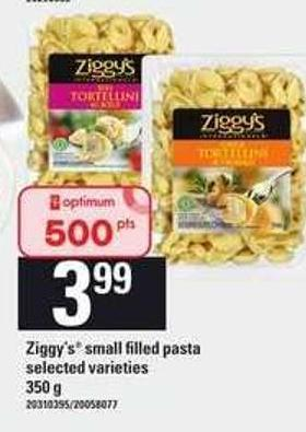 Ziggy's Small Filled Pasta - 350 g