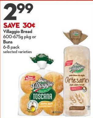 Villaggio Bread