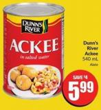 Dunn's River Ackee 540 mL