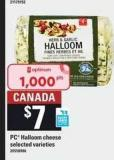 PC Halloom Cheese