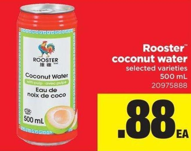 Rooster Coconut Water - 500 mL