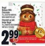 Regal Belgian Milk Chocolate 75 g