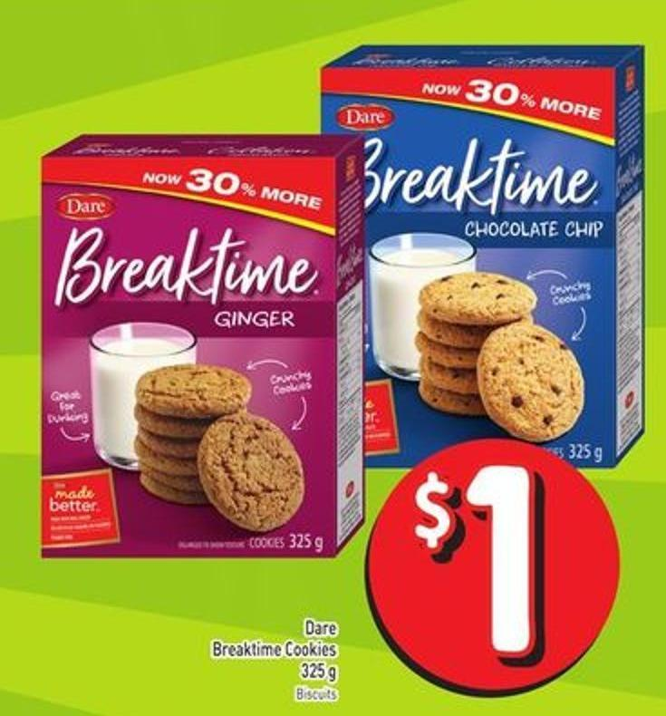 Dare Breaktime Cookies 325 g