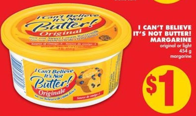 I Can't Believe It's Not Butter! Margarine - 454 g