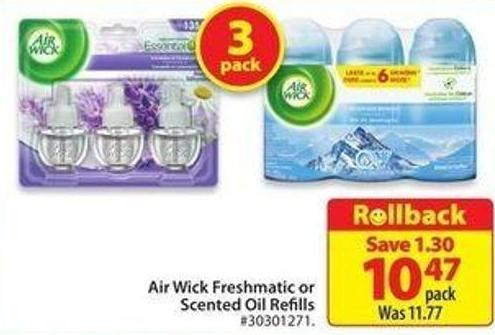 Air Wick Freshmatic or Scented Oil Refills