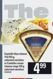 Castello Blue Cheese - 113/125 g Or Castello Cream Cheese Rings - 125 G