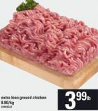 Extra Lean Ground Chicken