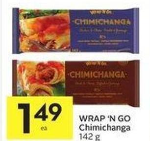 Wrap 'N Go Chimichanga 142 g