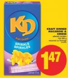 Kraft Dinner Macaroni & Cheese - 156-200 g