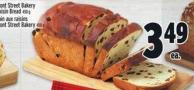 Front Street Bakery Raisin Bread 450 g